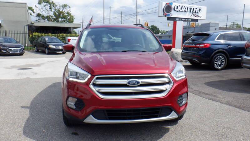 2018 Ford Escape for sale at Quattro Motors 2 - 1 in Redford MI