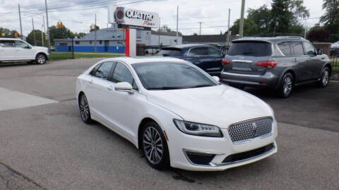 2017 Lincoln MKZ for sale at Quattro Motors 2 - 1 in Redford MI