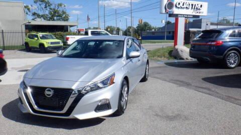 2020 Nissan Altima for sale at Quattro Motors 2 - 1 in Redford MI