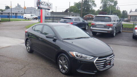 2018 Hyundai Elantra for sale at Quattro Motors 2 in Farmington Hills MI