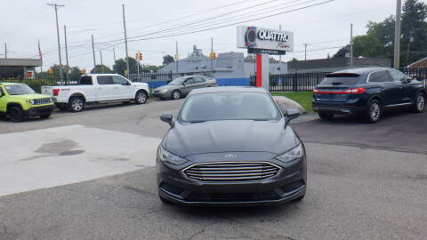 2017 Ford Fusion for sale at Quattro Motors 2 in Farmington Hills MI