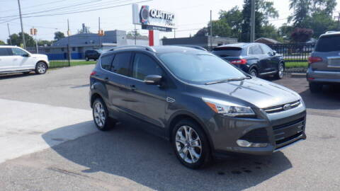 2016 Ford Escape for sale at Quattro Motors 2 - 1 in Redford MI