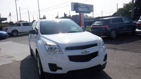 2014 Chevrolet Equinox for sale at Quattro Motors 2 in Farmington Hills MI