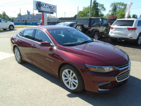 2016 Chevrolet Malibu for sale at Quattro Motors 2 - 1 in Redford MI