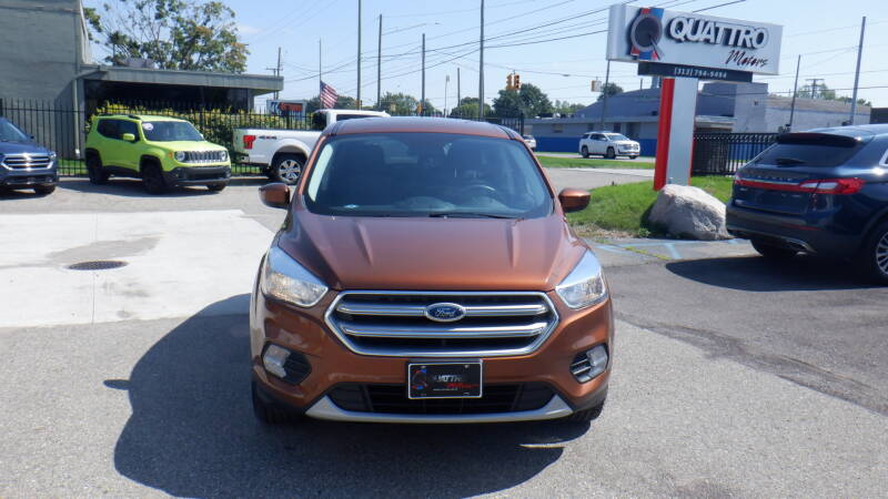 2017 Ford Escape for sale at Quattro Motors 2 in Farmington Hills MI