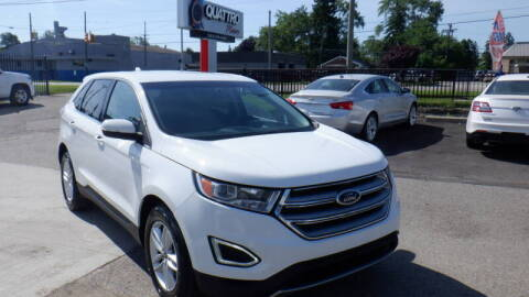 2015 Ford Edge for sale at Quattro Motors 2 - 1 in Redford MI