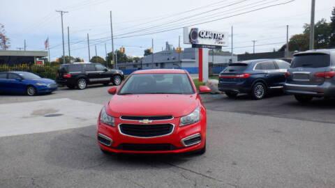 2016 Chevrolet Cruze Limited for sale at Quattro Motors 2 - 1 in Redford MI