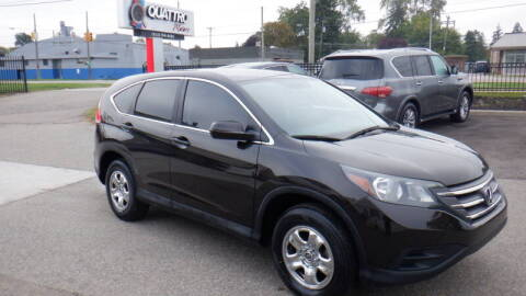 2014 Honda CR-V for sale at Quattro Motors 2 - 1 in Redford MI