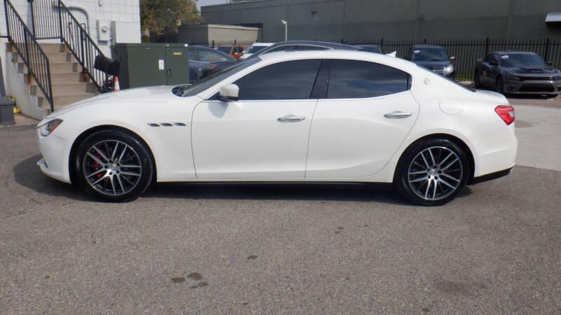 2016 Maserati Ghibli for sale at Quattro Motors 2 - 1 in Redford MI