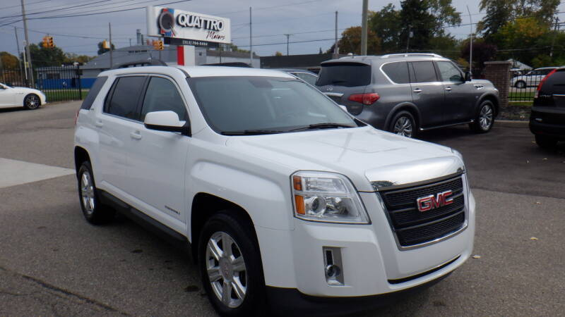 2015 GMC Terrain for sale at Quattro Motors 2 - 1 in Redford MI