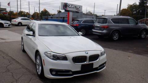 2015 BMW 5 Series for sale at Quattro Motors 2 - 1 in Redford MI