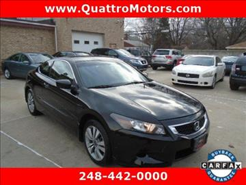 2009 Honda Accord for sale in Farmington Hills, MI