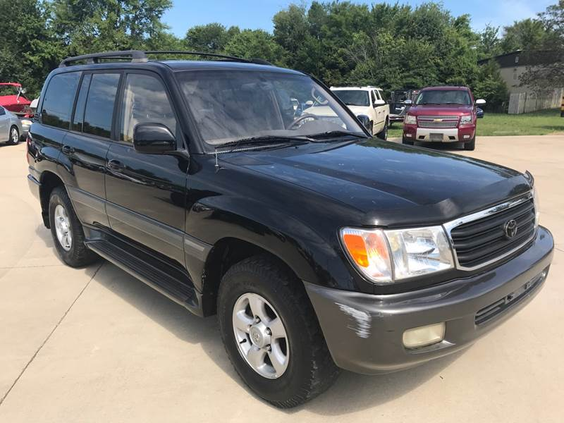 2000 Toyota Land Cruiser For Sale At Clarksville Auto Sales In Clarksville  TN