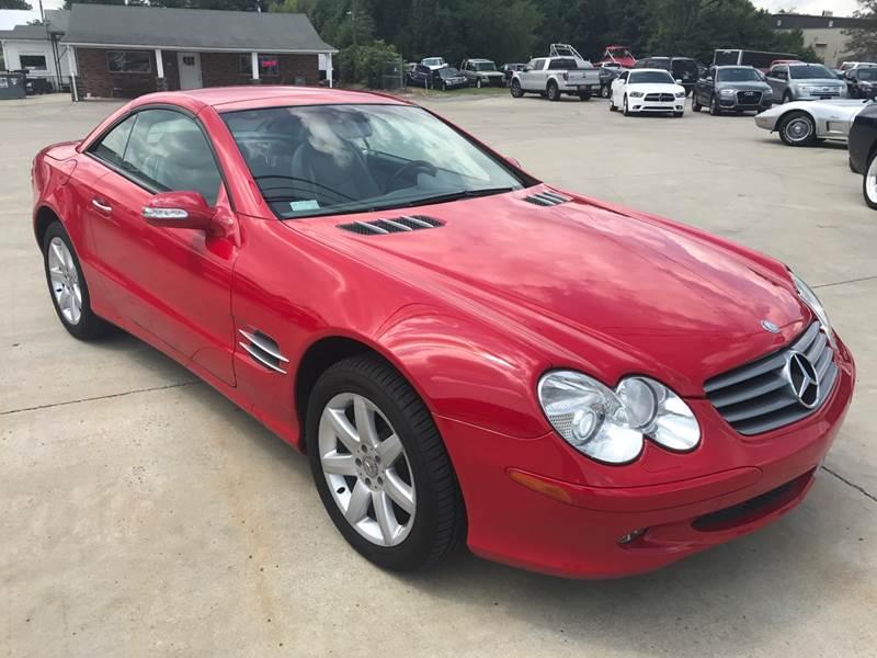 2003 Mercedes Benz Sl Class Sl 500 In Clarksville Tn Clarksville