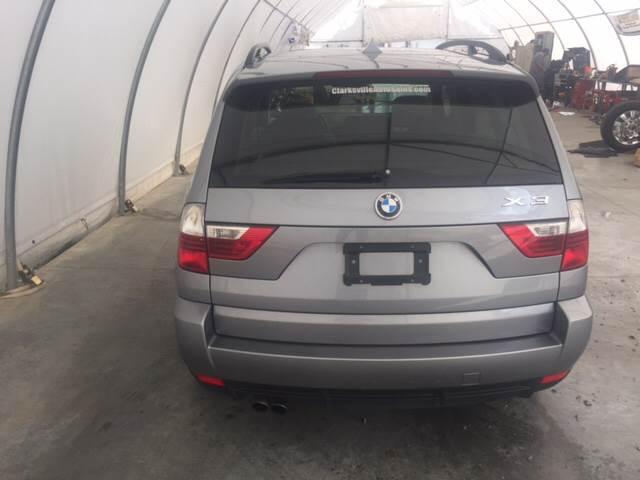 2007 BMW X3 for sale at Clarksville Auto Sales in Clarksville TN
