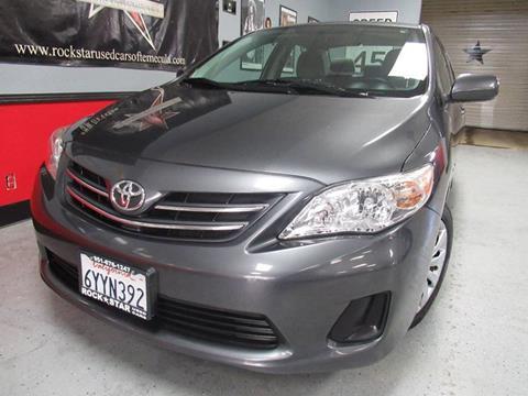 2013 Toyota Corolla for sale in Temecula, CA