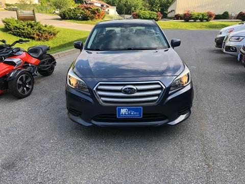 2015 Subaru Legacy for sale in Williston, VT