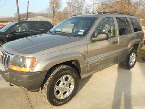 1999 Jeep Grand Cherokee for sale at CARDEPOT in Fort Worth TX