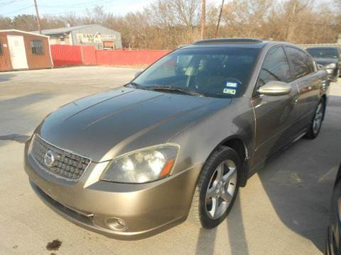 2005 Nissan Altima for sale at CARDEPOT in Fort Worth TX
