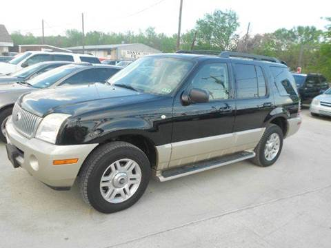 2005 Mercury Mountaineer for sale at CARDEPOT in Fort Worth TX
