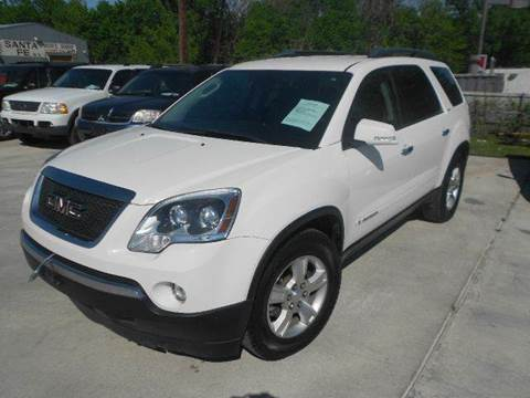2008 GMC Acadia for sale at Car Depot in Fort Worth TX