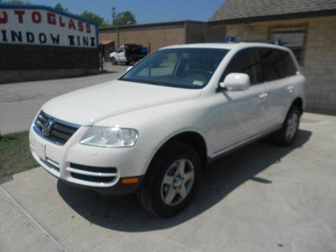 2005 Volkswagen Touareg for sale at CARDEPOT in Fort Worth TX