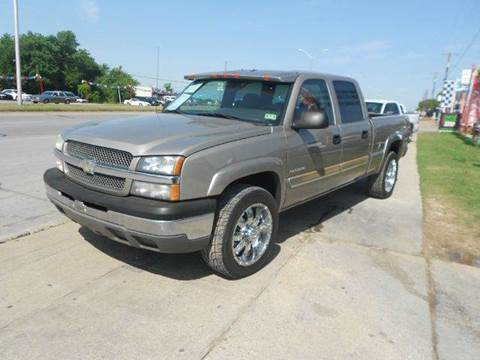 2003 Chevrolet Silverado 1500 for sale at CARDEPOT in Fort Worth TX