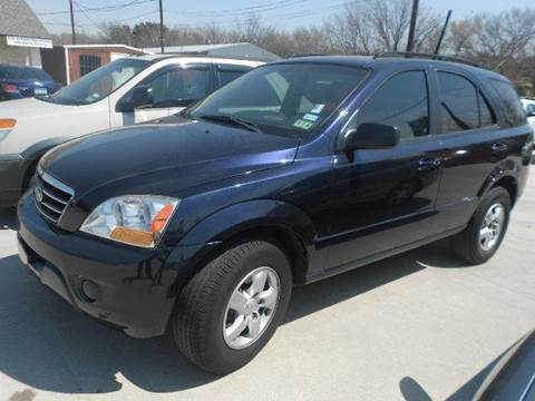 2008 Kia Sorento for sale at CARDEPOT in Fort Worth TX
