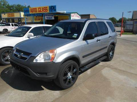 2004 Honda CR-V for sale at CARDEPOT in Fort Worth TX