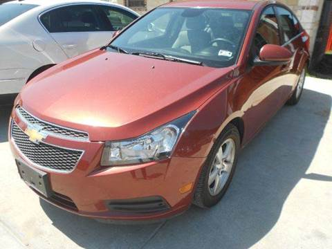2013 Chevrolet Cruze for sale at CARDEPOT in Fort Worth TX