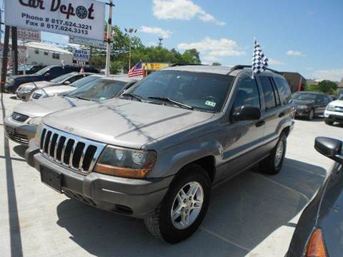 2002 Jeep Grand Cherokee for sale at CARDEPOT in Fort Worth TX
