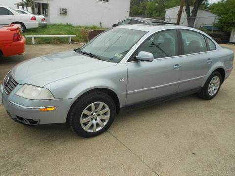 2002 Volkswagen Passat for sale at Car Depot in Fort Worth TX