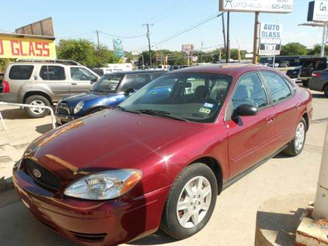 2005 Ford Taurus for sale at CARDEPOT in Fort Worth TX
