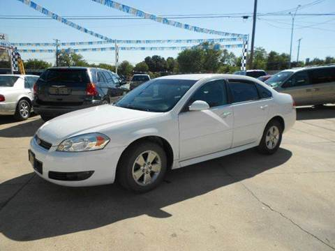 2010 Chevrolet Impala for sale at CARDEPOT in Fort Worth TX