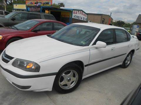 2001 Chevrolet Impala for sale at CARDEPOT in Fort Worth TX