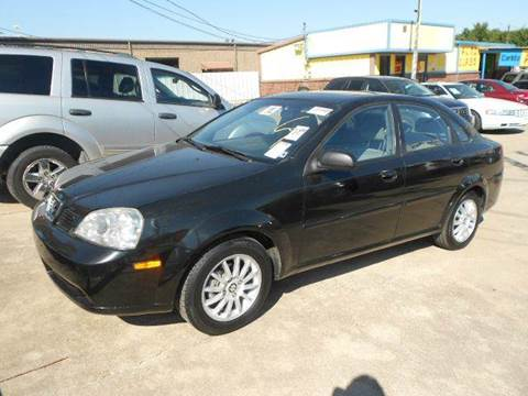 2005 Suzuki Forenza for sale at CARDEPOT in Fort Worth TX