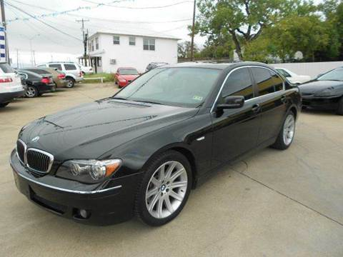 2006 BMW 7 Series for sale at CARDEPOT in Fort Worth TX