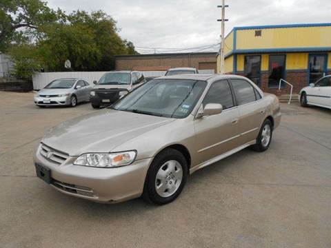 2001 Honda Accord for sale at CARDEPOT in Fort Worth TX