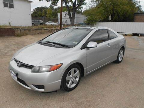 2006 Honda Civic for sale at CARDEPOT in Fort Worth TX