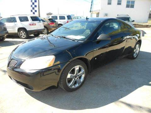 2008 Pontiac G6 for sale at CARDEPOT in Fort Worth TX