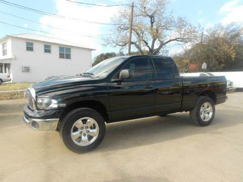 2004 Dodge Ram Pickup 1500 for sale at CARDEPOT in Fort Worth TX