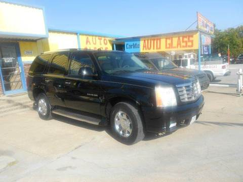 2004 Cadillac Escalade for sale at Car Depot in Fort Worth TX