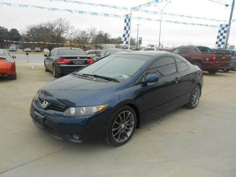 2008 Honda Civic for sale at CARDEPOT in Fort Worth TX
