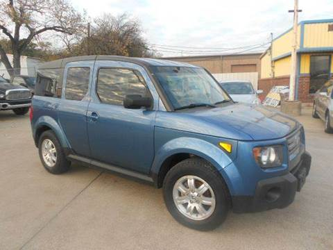 2008 Honda Element for sale at CARDEPOT in Fort Worth TX