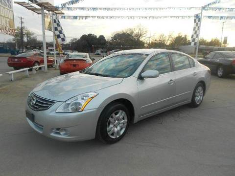 2010 Nissan Altima for sale at CARDEPOT in Fort Worth TX