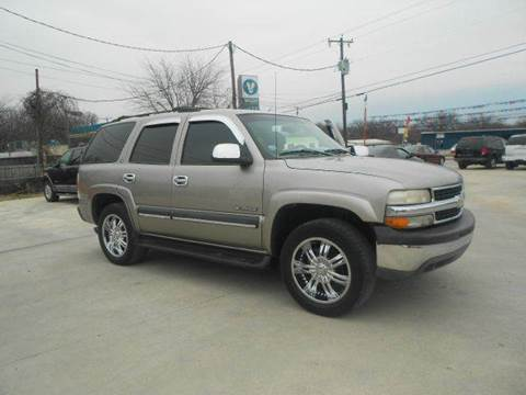 2002 Chevrolet Tahoe for sale at CARDEPOT in Fort Worth TX