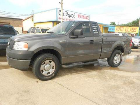 2008 Ford F-150 for sale at CARDEPOT in Fort Worth TX