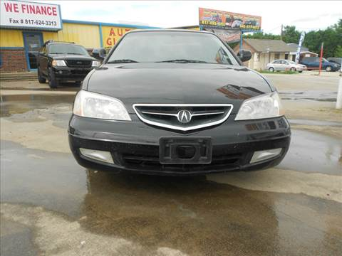 2001 Acura CL for sale at Car Depot in Fort Worth TX