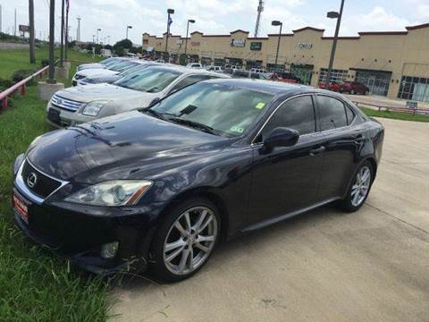 2007 Lexus IS 250 for sale at CARDEPOT in Fort Worth TX