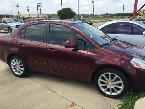 2011 Suzuki SX4 for sale at CARDEPOT in Fort Worth TX